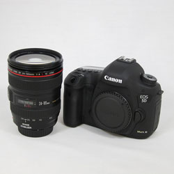 Canon ■実物画像有り■ EOS 5D MarkIII EF24-105L IS U レンズキット(2230万画素)
