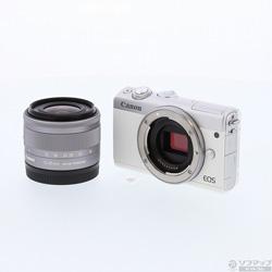 EOS M100 EF-M 15-45 IS STM lens kit WH (White)