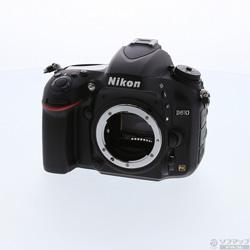 [Used] Nikon D610 (2426 million pixels / SDXC) (lens sold separately)
