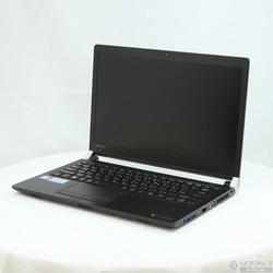 東芝(TOSHIBA) 〔中古〕 dynabook RX73/FBP (PRX73FBPBEA) グラファイトブラック 〔Windows10〕