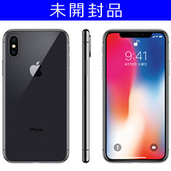 [Unopened goods] iPhone X 64GB space gray MQAX2J / A domestic version SIM-free