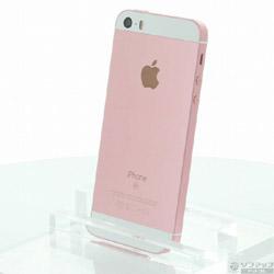 〔中古〕 iPhone SE 64GB ローズゴールド MLXQ2J/A au〔SIMロック解除済み〕
