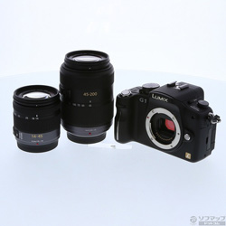 [Used] LUMIX DMC-G1W lens kit (K) (Comfort Black)
