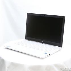 HP 〔中古〕 HP 15-bs005TU-OHB-B 2DN43PA-AADY ピュアホワイト 〔Windows10〕
