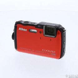 〔中古〕 COOLPIX AW120 (1605万画素/5倍/防水/サンシャインオレンジ/SDXC)