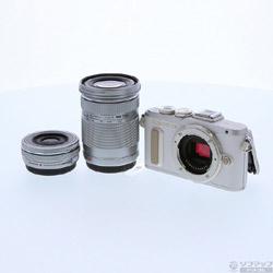 [使用] PEN E-PL8的14-42mm EZ双变焦试剂盒(白色)