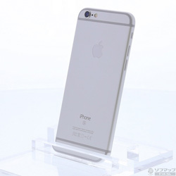 [使用] iPhone 6S 64GB銀NKQP2J / A AU [SIM鎖定]