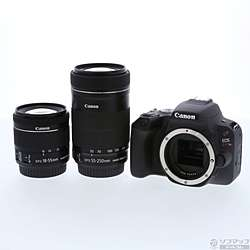 [Used] EOS Kiss X9 black double zoom kit