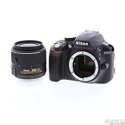 [Used] NIKON D3300 18-55 VRII lens kit (24.16 million pixels / SDXC)