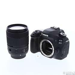 [使用] EOS 80D(W)EF-S18-135 IS USM透镜试剂盒(24200000个像素/ SDXC)