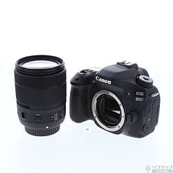 [Used] EOS 80D (W) EF-S18-135 IS USM lens kit (24.2 million pixels / SDXC)
