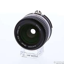 [使用] [展品]尼康艾尼克爾28毫米F2.8S(手動聚焦透鏡)