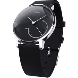 ウェアラブル端末 「Withings Activite Steel Black」 HWA01-Steel-Black-Asial