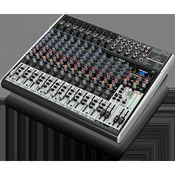 USBオーディオインターフェース、高性能FXプロセッサーを搭載した16入力アナログ・ミキサー X2222USBXENYX ブラック