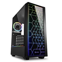 PCケース SHA-RGB LIT100 ブラック