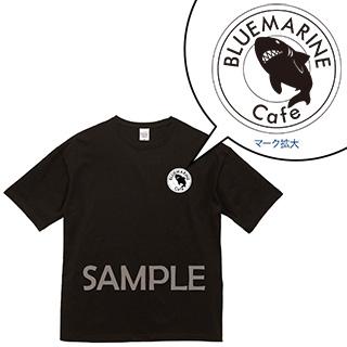 【店頭併売品】 ブルースカイコンプレックス ビックシルエットTシャツ(黒)