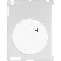 iPad Retina/新しいiPad用 回転スタンド付きシェルカバー (クリア) GH-CA-IPADRC