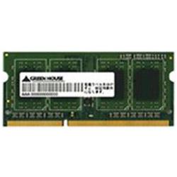 PC3L-12800(DDR3L-1600)対応ノートPCメモリー(8GB)GH-DWT1600LV-8GB