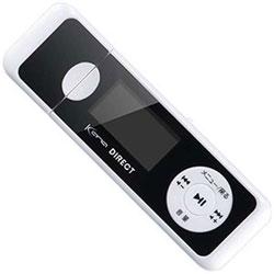 デジタルオーディオプレーヤー KANA Direct GHKANADT8WH ホワイト [8GB]