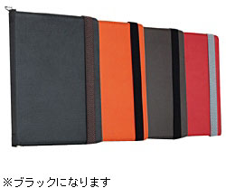 TUNEFOLIO URBAN for iPad Wide ブラック(TUN-PD-000043)
