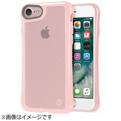 iPhone 7用 Hybrid Shell 衝撃吸収クリアケース ピンク TUN-PH-000530