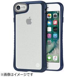 iPhone 7用 Hybrid Shell 衝撃吸収クリアケース ネイビー TUN-PH-000531