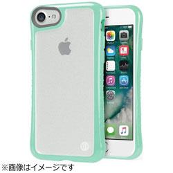 iPhone 7用 Hybrid Shell 衝撃吸収クリアケース ターコイズブルー TUN-PH-000533