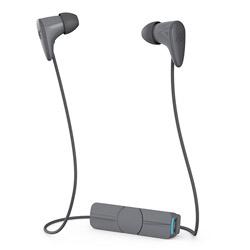 charisma wireless(グレー)MOP-EP-000006【防滴】【リモコン・マイク対応】 ブルートゥースイヤホン カナル型
