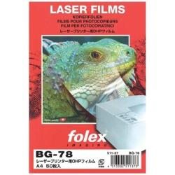 BG78 レーザー用OHPフィルム A4(50) 0.175mm