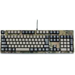 FILCO(フィルコ) 有線キーボード[USB 1.5m&PS/2]Majestouch 2 Camouflage-R かな無し/テンキー有り Cherry MX 青軸 (日本語配列108キー) FKBN108MC/NMR2