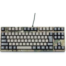 FILCO(フィルコ) 有線キーボード[USB 1.5m&PS/2] Majestouch 2 Camouflage-R かな無し/テンキー無し Cherry MX 青軸 (日本語配列91キー) FKBN91MC/NMR2