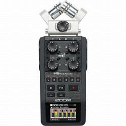 【ハイレゾ音源対応】リニアPCMレコーダー【SDカード記録型】 H6   [内蔵容量なし /ハイレゾ対応]