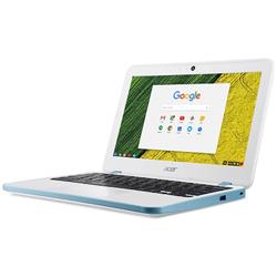 ノートパソコン Chromebook (クロームブック) 11 パールホワイト CB311-7H-N14N [11.6型 /intel Celeron /eMMC:32GB /メモリ:4GB /2017年9月モデル]