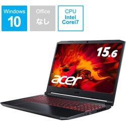 AN515-55-A76Y6T ゲーミングノートパソコン Nitro 5 オブシディアンブラック [15.6型 /intel Core i7 /SSD:512GB /メモリ:16GB /2020年7月モデル]