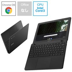 Acer(エイサー) ノートパソコン Chromebook (クロームブック) 712 シェールブラック C871T-A38N [12.0型 /intel Core i3 /eMMC:32GB /メモリ:8GB /2020年10月モデル]