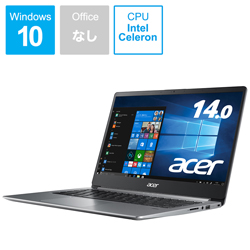 Acer(エイサー) ノートパソコン Swift 1 スパークリーシルバー SF114-32-A14U/S [14.0型 /intel Celeron /SSD:256GB /メモリ:4GB /2020年8月モデル]