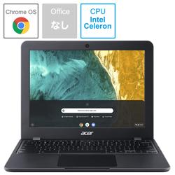Acer(エイサー) ノートパソコン C851T-H14N シェールブラック [12.0型 /intel Celeron /eMMC:32GB /メモリ:4GB /2020年3月モデル]