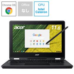 ノートパソコン Chromebook (クロームブック) Spin 11 オブシディアンブラック R751TN-N14N [11.6型 /intel Celeron /eMMC:32GB /メモリ:4GB /2017年8月モデル]