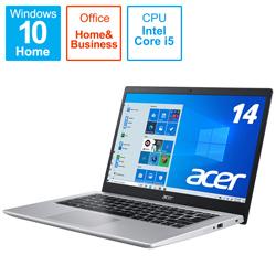 Acer(エイサー) ノートパソコン Aspire 5 チャコールブラック A514-54-A58Y/KF [14.0型 /intel Core i5 /メモリ:8GB /SSD:512GB /2021年10月モデル]