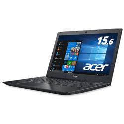 ノートPC Aspire E 15 E5-576-F34D/KF オブシディアンブラック [Core i3・15.6インチ・Office付き]