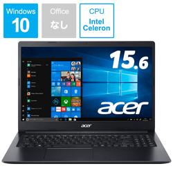 Acer(エイサー) A315-34-F14U/K ノートパソコン Aspire 3 チャコールブラック [15.6型 /intel Celeron /SSD:256GB /メモリ:4GB /2019年11月モデル]