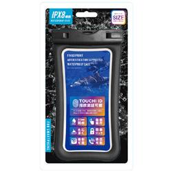 指紋認証対応 防水ケース ブラック M-WP04BK