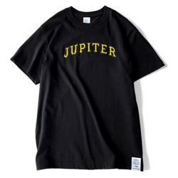 JUPITER COLLEGE T-SHIRTS BLACK