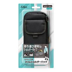 Switch Lite用 スリムショルダーバッグ ターコイズ SASP-0543 【Switch Lite】