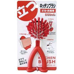 キッチンブラシ(ざる・お鍋用) まるちゃん K36405