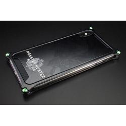 モンスターハンターワールドソリッドバンパーforiPhoneX/ブラック/リオレウス GI-MON-5