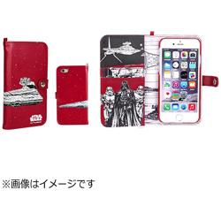 iPhone 6s/6用 STARWARS ストーリー ブック ケース スター・デストロイヤー