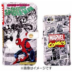 iPhone 6s/6用 MARVEL マーベル コミック ダイアリーケース スパイダーマン