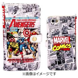 iPhone 6s/6用 MARVEL マーベル コミック ダイアリーケース アベンジャーズ