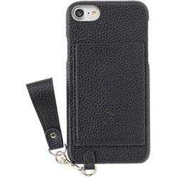 [iPhone 8/7/6s/6専用]salisty(サリスティ)M パンチングロゴ ハードケース (ブラック)M-HC010C 276-906705